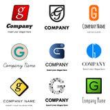 Логотип g письма иллюстрация вектора