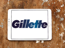 Логотип Gillette стоковое изображение rf