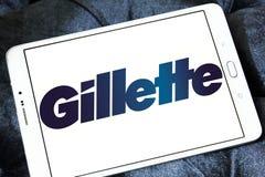 Логотип Gillette стоковое фото rf