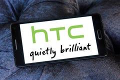 Логотип Htc стоковые изображения rf