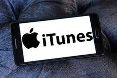 Логотип Itunes Стоковое Изображение RF