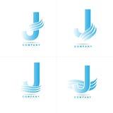 Логотип j письма Стоковые Изображения
