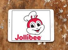 Логотип Jollibee Еды Корпорации Стоковое Изображение