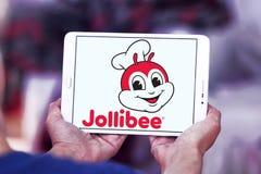 Логотип Jollibee Еды Корпорации Стоковое Изображение RF