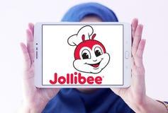 Логотип Jollibee Еды Корпорации Стоковые Фото