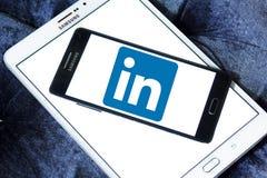 Логотип Linkedin Стоковая Фотография