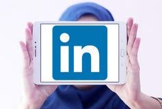 Логотип Linkedin стоковое фото rf