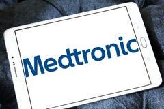 Логотип Medtronic Публики Ограниченн Компании Стоковые Фото
