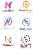 Логотип n письма бесплатная иллюстрация