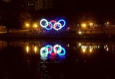 Логотип Olimpic стоковое изображение rf