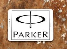 Логотип Parker Писать Компании Стоковые Фотографии RF