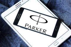Логотип Parker Писать Компании Стоковые Изображения