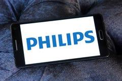 Логотип Philips стоковое изображение rf