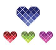 Логотип Prisma влюбленности Стоковое Изображение RF