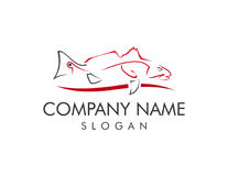 Логотип Redfish Стоковые Фото