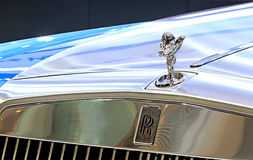 Логотип Rolls Royce на бампере Стоковые Изображения