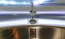 Логотип Rolls Royce на бампере Стоковое Изображение