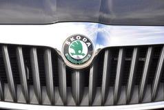 Логотип Skoda Стоковые Изображения