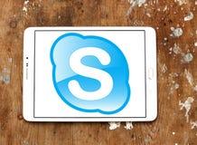 Логотип Skype Стоковое Изображение