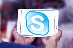 Логотип Skype Стоковое фото RF