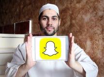 Логотип Snapchat Стоковое фото RF