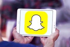 Логотип Snapchat Стоковые Изображения RF