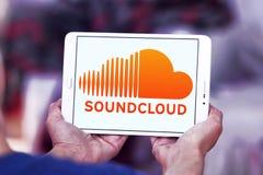 Логотип Soundcloud Стоковое Изображение RF