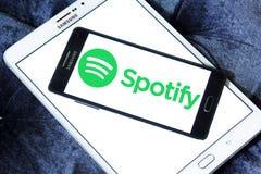 Логотип Spotify Стоковое Изображение RF