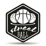 Логотип Streetball Стоковое Фото