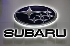 Логотип Subaru Компании стоковая фотография rf