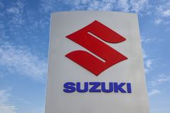 Логотип Suzuki Стоковое Изображение