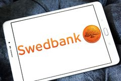 Логотип Swedbank Стоковая Фотография RF