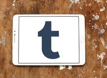 Логотип Tumblr Стоковая Фотография RF
