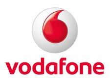 Логотип Vodafone иллюстрация вектора