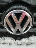 Логотип VW стоковые изображения rf