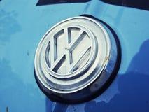 Логотип VW Стоковое фото RF