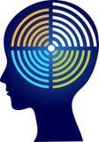 Логотип wifi мозга бесплатная иллюстрация