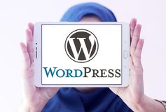 Логотип WordPress Стоковая Фотография RF
