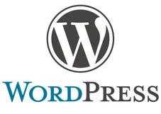 Логотип WordPress иллюстрация штока