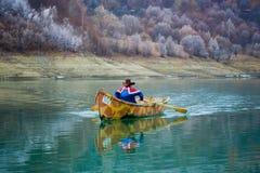 лодочник Стоковая Фотография