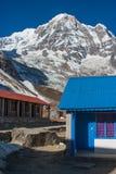 Ложи базового лагеря Annapurna, Непал стоковая фотография