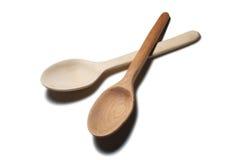 ложка деревянная Стоковые Изображения RF