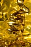 ложка меда Стоковое Изображение