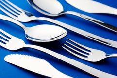 ложка ножа вилки Стоковые Фото