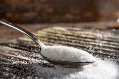 Ложка сахара Стоковые Фотографии RF