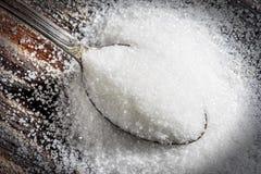 Ложка сахара Стоковое Изображение