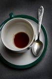 ложка чашки Стоковые Изображения