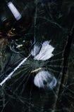 Ложка шприца лекарства концепции великолепная стеклянная Стоковое Изображение
