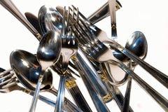 ложка штепсельной вилки металла конца стоковые фото
