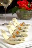 ложки образца escargot стоковая фотография rf
